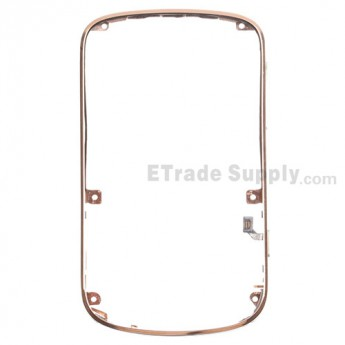 For BlackBerry Bold Touch 9900, 9930 Bezel Replacement - Gold