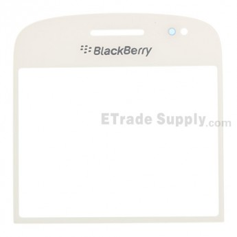 For BlackBerry Bold Touch 9900, 9930 Glass Lens Replacement - White - Grade R
