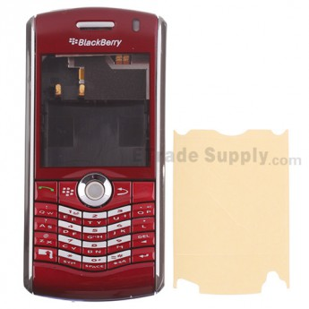 For BlackBerry Pearl 8110 Housing Replacement ,Red - Grade R