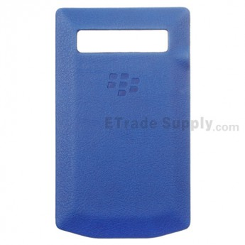 For BlackBerry Porsche Design P'9981 Battery Door Replacement - Blue - Grade R