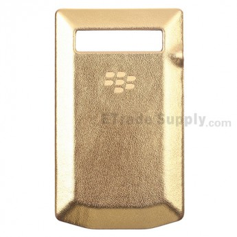 For BlackBerry Porsche Design P'9981 Battery Door Replacement - Gold - Grade R
