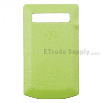 For BlackBerry Porsche Design P'9981 Battery Door Replacement - Green - Grade R