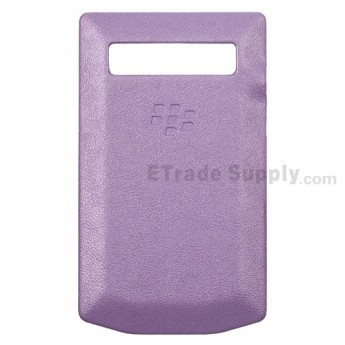 For BlackBerry Porsche Design P'9981 Battery Door Replacement - Purple - Grade R