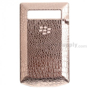 For BlackBerry Porsche Design P'9981 Leather Battery Door Replacement - Champagne - Grade R