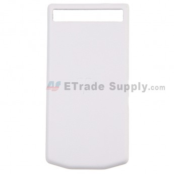 For BlackBerry Porsche Design P'9982 Battery Door Replacement - White - Grade R