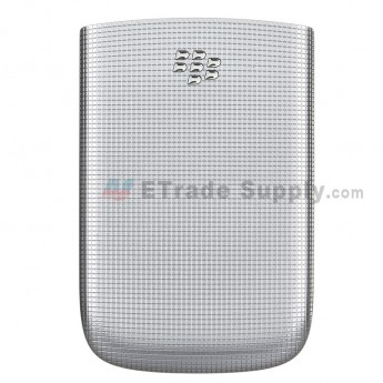 For BlackBerry Torch 2 9810 Battery Door Replacement - Silver - Grade R