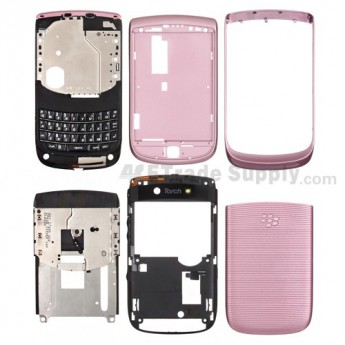 For BlackBerry Torch 9800 Complete Housing Replacement ,White - Grade R