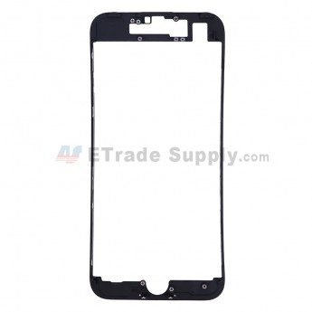 For Apple iPhone 7 Digitizer Frame Replacement - Black - Grade S+
