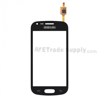 For Samsung Galaxy S Duos GT-S7562 Digitizer Touch Screen Replacement - Black - With Logo - Grade S+