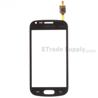 For Samsung Galaxy S Duos GT-S7562/S7560 Digitizer Touch Screen Replacement - Black - With Logo - Grade S+