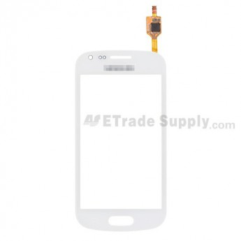 For Samsung Galaxy S Duos GT-S7562 Digitizer Touch Screen Replacement - White - With Logo - Grade S+