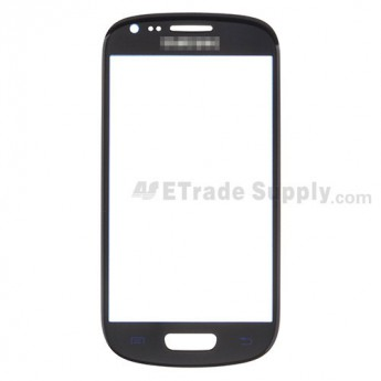 For Samsung Galaxy S III Mini I8190 Glass Lens Replacement - Blue - Grade R