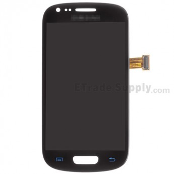 For Samsung Galaxy S III Mini I8190 LCD Screen and Digitizer Assembly Replacement - Blue - Grade S+