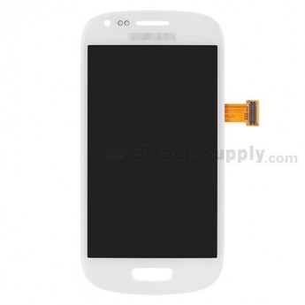 For Samsung Galaxy S III Mini I8190 LCD Screen and Digitizer Assembly Replacement - White - Grade S+