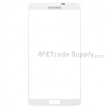 For Samsung Galaxy Note 3 N9006/N900/N9005/N900A/N900P/N900T/N900V/N900R4 Glass Lens Replacement - White - Grade S+