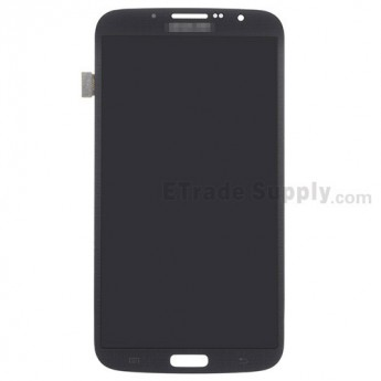 For Samsung Galaxy Mega 6.3 SPH-L600 LCD Screen and Digitizer Assembly Replacement - Black - With Logo - Grade S