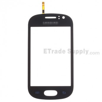 For Samsung Galaxy Fame S6810 Digitizer Touch Screen Replacement - Black - With Logo - Grade S+