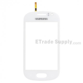 For Samsung Galaxy Fame S6810 Digitizer Touch Screen Replacement - White - Grade S+