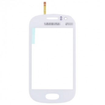 For Samsung Galaxy Fame S6810 Digitizer Touch Screen Replacement - White - With Logo - Grade S+