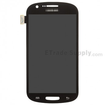 For Samsung Galaxy Express SGH-I437 LCD Screen and Digitizer Assembly Replacement - Black - With Logo - Grade S+