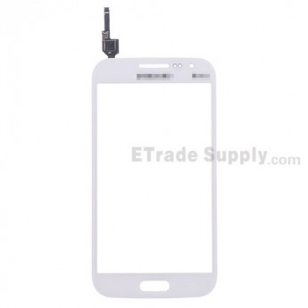For Samsung Galaxy Win GT-I8552 Digitizer Touch Screen Replacement - White - With Logo - Grade S+