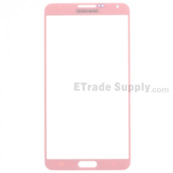 For Samsung Galaxy Note 3 N9005/N9006/N900/SM-N900R4/N900V/N900P/N900A/N900T Glass Lens Replacement - Pink - Grade R
