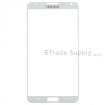 For Samsung Galaxy Note 3 N9005/N9006/N900/SM-N900R4/N900V/N900P/N900A/N900T Glass Lens Replacement - White - Grade R