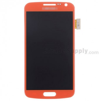 For Samsung Galaxy Premier GT-I9260 LCD Screen and Digitizer Assembly Replacement - Orange - With Logo - Grade S+