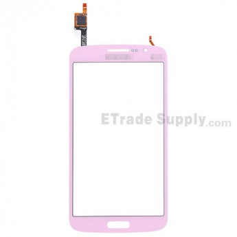 For Samsung Galaxy Grand 2 Samsung-G7102 Digitizer Touch Screen Replacement - Pink - With Logo - Grade S+