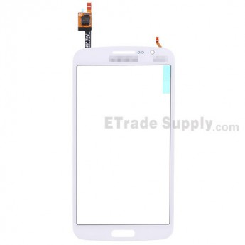 For Samsung Galaxy Grand 2 Samsung-G7102 Digitizer Touch Screen Replacement - White - With Logo - Grade S+