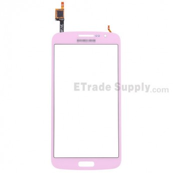 For Samsung Galaxy Grand 2 Samsung-G7106 Digitizer Touch Screen Replacement - Pink - With Logo - Grade S+