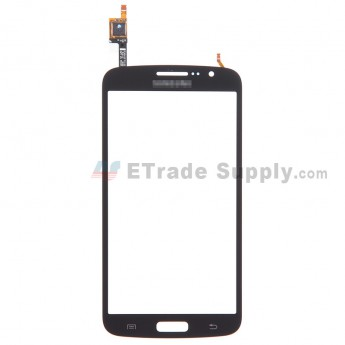 For Samsung Galaxy Grand 2 SM-G7105 Digitizer Touch Screen Replacement - Black - With Logo - Grade S