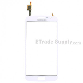 For Samsung Galaxy Grand 2 Samsung-G7106 Digitizer Touch Screen Replacement - White - With Logo - Grade S+