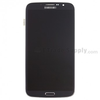 For Samsung Galaxy Mega 6.3 I9200 LCD Assembly with Front Housing Replacement - Black - With Logo - Grade S