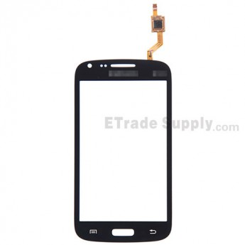 For Samsung Galaxy Core GT-I8260 Digitizer Touch Screen Replacement - Black - With Logo - Grade S+