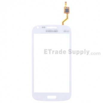 For Samsung Galaxy Core GT-I8260 Digitizer Touch Screen Replacement - White - With Logo - Grade S+