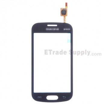 For Samsung Galaxy Trend Lite GT-S7390 Digitizer Touch Screen Replacement - Black - With Logo - Grade S+