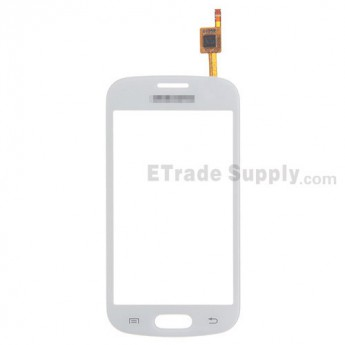 For Samsung Galaxy Trend Duos GT-S7562C Digitizer Touch Screen Replacement - White - With Logo - Grade S+