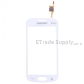 For Samsung Galaxy Trend GT-S7392 Digitizer Touch Screen Replacement - White - With Logo - Grade S+
