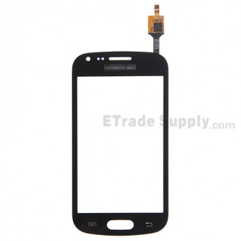 For Samsung Galaxy Trend Plus GT-S7580 Digitizer Touch Screen Replacement - Black - With Logo - Grade S+