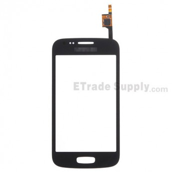 For Samsung Galaxy Ace 3 GT-S7270, GT-S7272 Digitizer Touch Screen Replacement - Black - With Logo - Grade S+