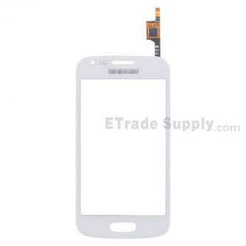 For Samsung Galaxy Ace 3 GT-S7270, GT-S7272 Digitizer Touch Screen Replacement - White - With Logo - Grade S+