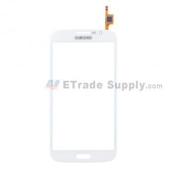 For Samsung Galaxy Mega 5.8 I9152 Digitizer Touch Screen Replacement - White - With Logo - Grade S+