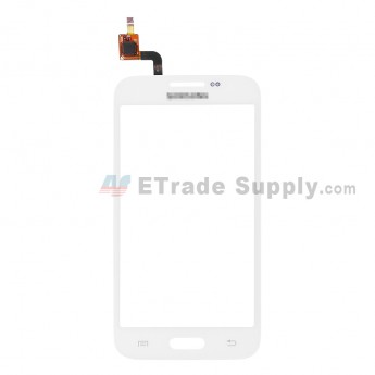 For Samsung Galaxy Core Lite 4G G3588V Digitizer Touch Screen Replacement - White - With Logo - Grade S+