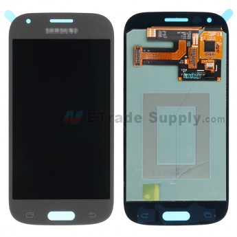 For Samsung Galaxy Ace 4 SM-G357FZ LCD Screen and Digitizer Assembly Replacement - Gray - With Logo - Grade S+