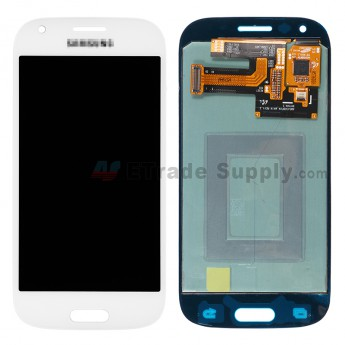 For Samsung Galaxy Ace 4 SM-G357FZ LCD Screen and Digitizer Assembly Replacement - White - With Logo - Grade S+