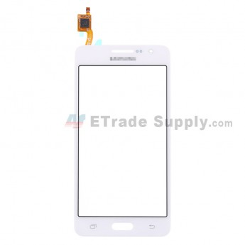 For Samsung Galaxy Grand Prime LTE SM-G530F Digitizer Touch Screen Replacement - White - With Logo - Grade S+