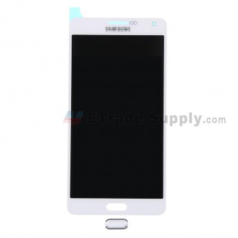 For Samsung Galaxy A7 Samsung-A700 LCD Screen and Digitizer Assembly with Home Button Replacement - White - Grade S+