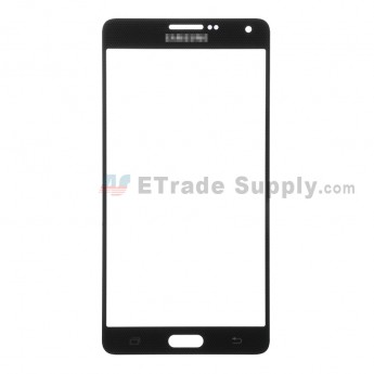 For Samsung Galaxy A7 Samsung-A700 Glass Lens Replacement - Black - Grade S+