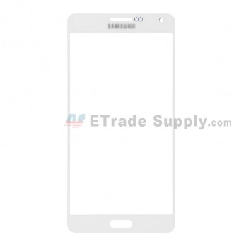 For Samsung Galaxy A7 SM-A700 Glass Lens Replacement - White - With Logo - Grade S+